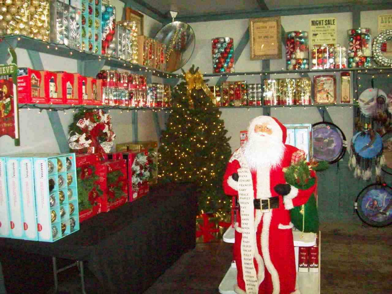Christmas Decorations available at Gokeys Outlet Stores