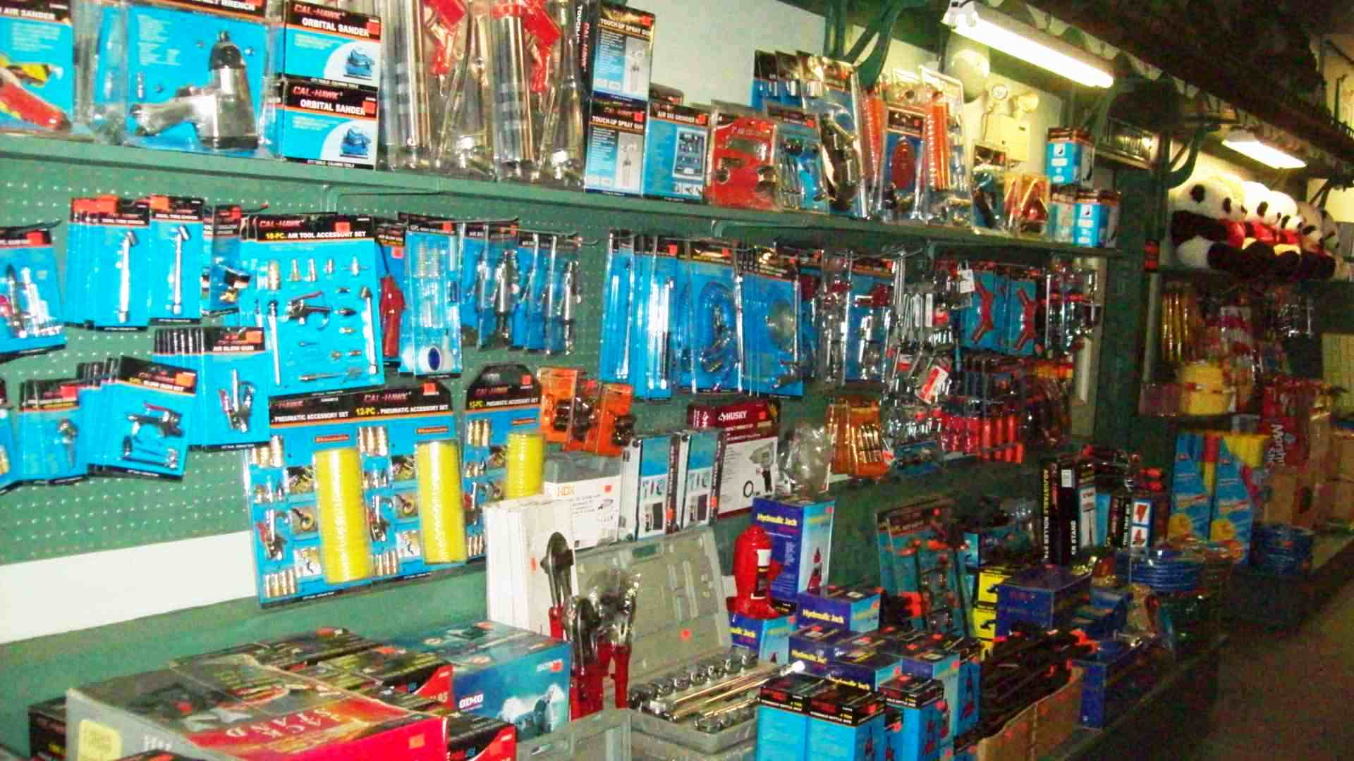Vast Selections of tools and household supplies